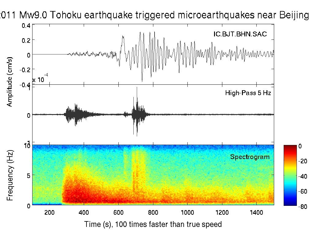 Earthquake Sound of the Mw9 0 Tohoku-Oki, Japan earthquake